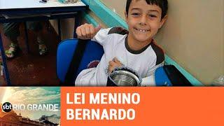"""Lei """"Menino Bernardo"""" proíbe castigo na educação - SBT Rio Grande - 19/03/19"""