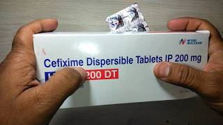 Hifen 200 DT full review Cefixime Indication Side Effects Precaution in English