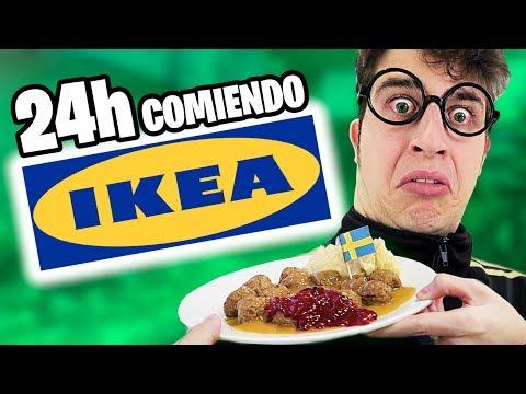 24 HORAS COMIENDO EN IKEA! **Cada comida un IKEA diferente**