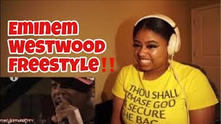 Eminem biggest ever freestyle in the world! - Westwood *REACTION*