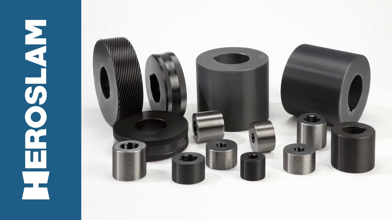 Flat and cylindrical dies - Thread Rolling tools | HEROSLAM