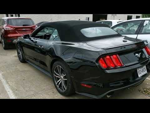 Used 2016 Ford Mustang Dallas TX Garland, TX #V190220A - SOLD