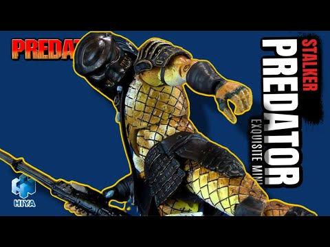 Hiya Toys Stalker Predator Exquisite  Mini | Video Review ADULT COLLECTIBLES