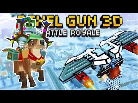 15.6.0 CHRISTMAS UPDATE! SUPER CHEST OPENING! CHRISTMAS BATTLE ROYALE | Pixel Gun 3D