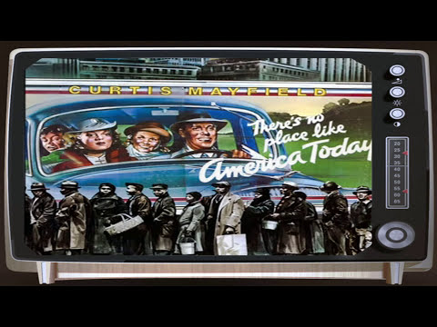 Curtis Mayfield - Billy Jack - There's no place like America Today - 1975