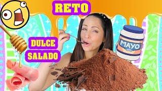 Reto Dulce Salado - Mezclando Comidas! Uff thumbnail