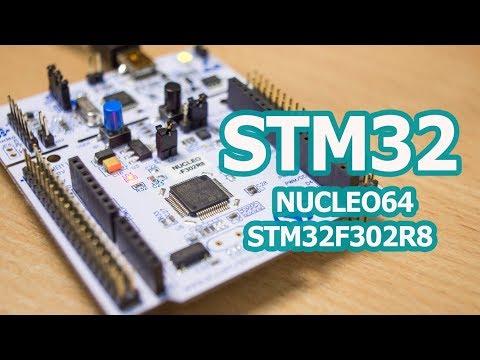 NUCLEO-F302R8, Отладочная плата на STM32F302R8T6 (ARM Cortex-M4)