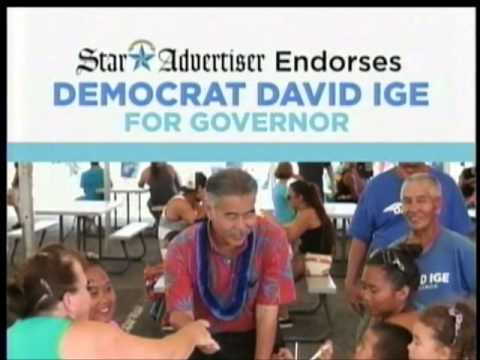 David Ige Campaign Commercial