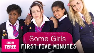The First Five Minutes Of Some Girls (No Titles)