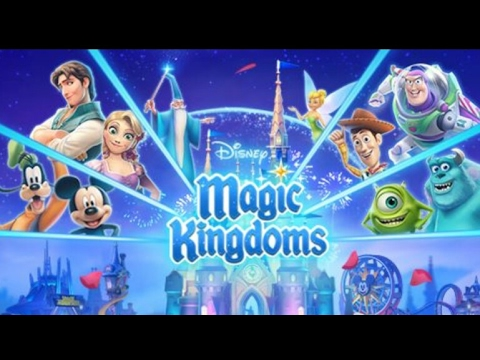 Making My Own Disney Magic Kingdom! (Magic Kingdoms App Game)