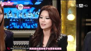 [中字] 111208 SNSD @ The Beatles Code 4/4
