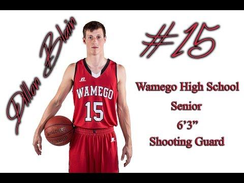 Dillon Blain Basketball Highlight Video - Wamego High School Senior 2017
