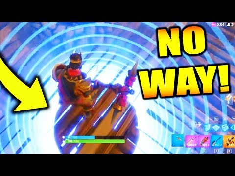 THE SMALLEST CIRCLE *WIN* ON FORTNITE BATTLE ROYALE!!
