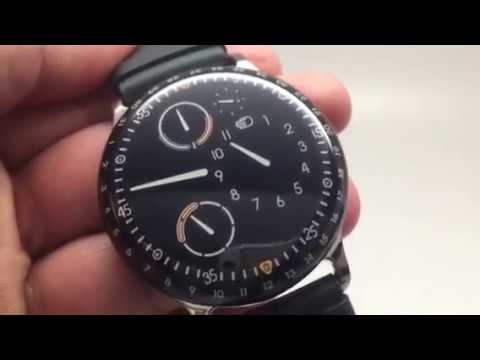 Ressence Type 3 >> Ressence Type 3 Night Blue Mens Watch Review 2017 Youtube