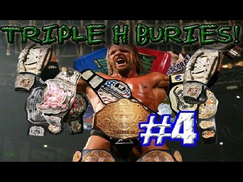 TRIPLE H BURIES THE UNITED STATES CHAMPION!!!!