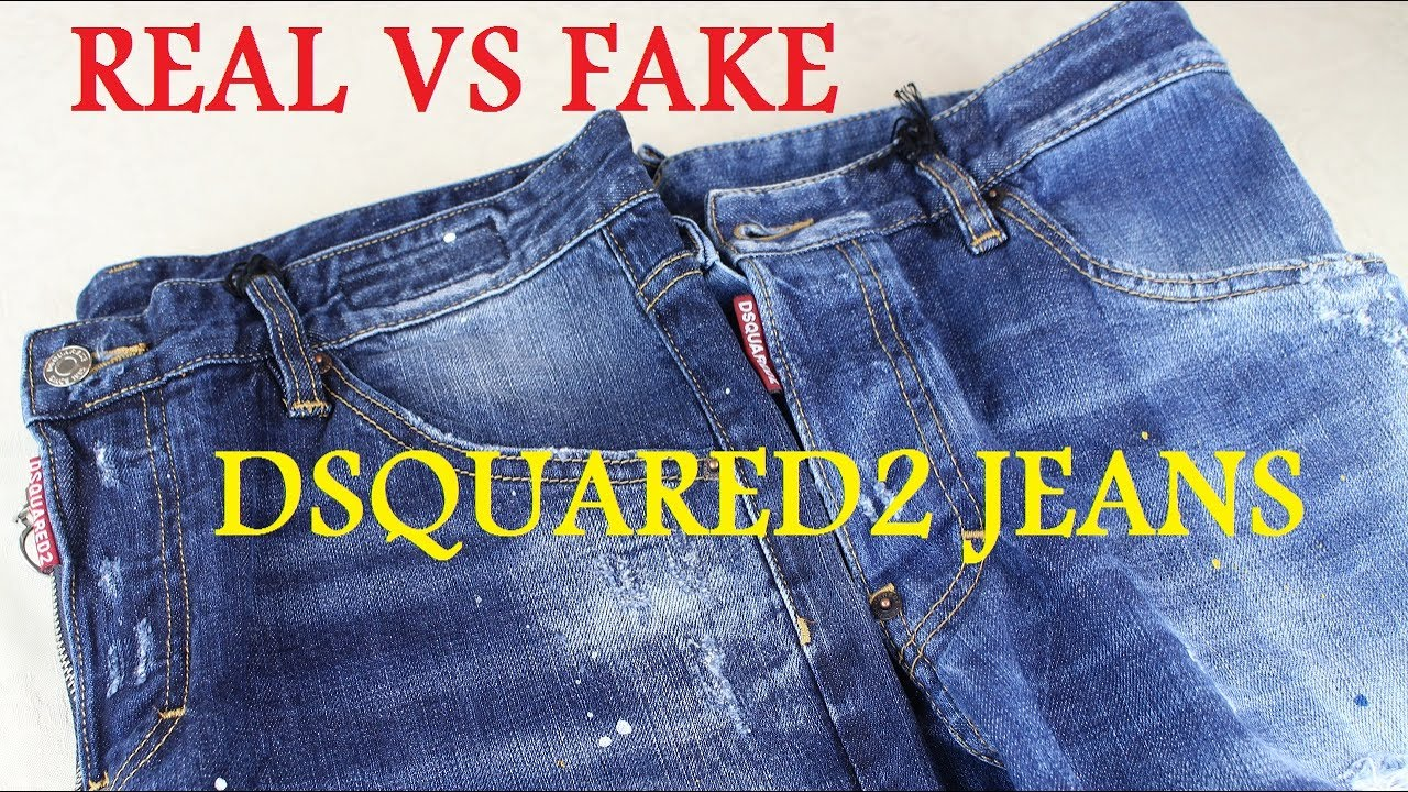REAL VS FAKE DSQUARED2 JEANS LEGIT CHECK - YouTube ca1603117ae8