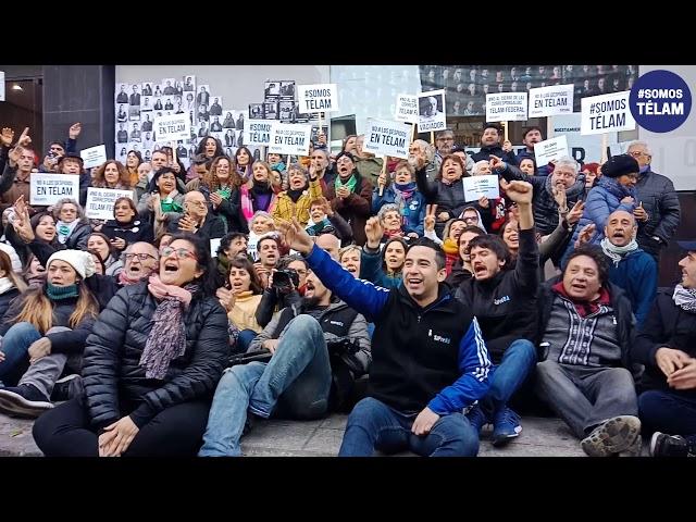 Los Organismos de Derechos Humanos abrazaron a Télam