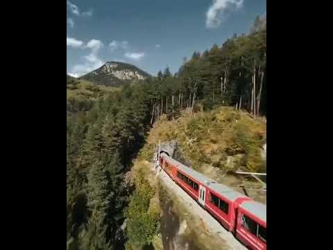 Epic Swiss Train Track