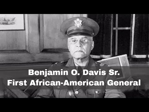 25th October 1940: Benjamin O. Davis Sr. becomes first AfricanAmerican general in the US military