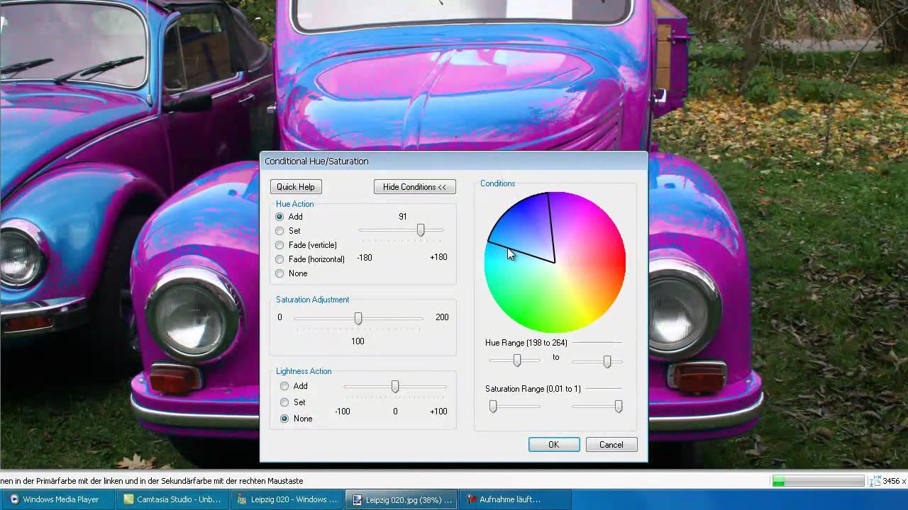 Mit Paint die Farben in einen Bild ändern - YouTube
