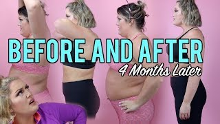 4 months after starting my weight loss journey | weight watchers freestyle