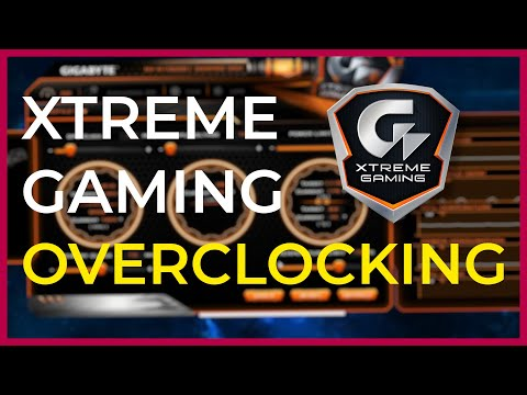 How To Overclock Using Gigabyte Xtreme Gaming Software