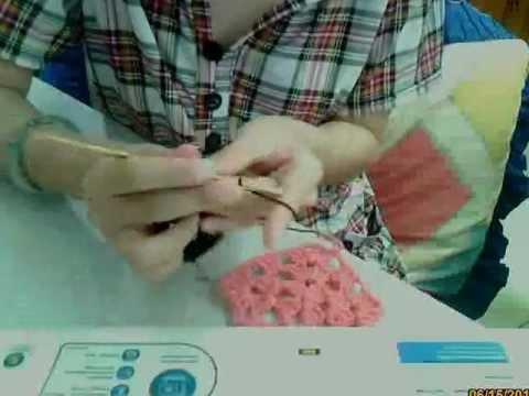 วิธีหนึ่งของการถักต่อดอก.wmv