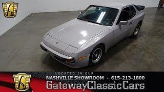 1984 Porsche 944, Gateway classic cars Nashville #913 nsh