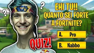 DO YOU REALLY PLAY FORTNITE? QUIZ to test your ALOTs!
