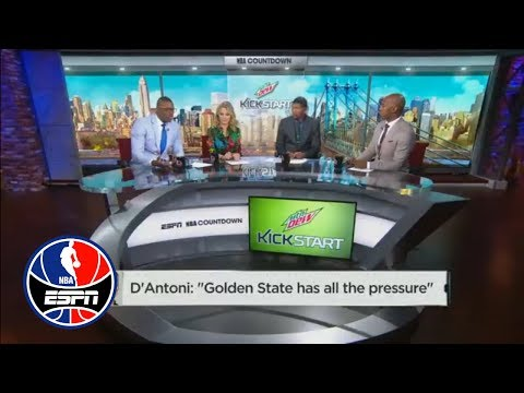 Paul Pierce on D'Antoni's comments: 'There is no pressure on the Warriors' | NBA Countdown | ESPN