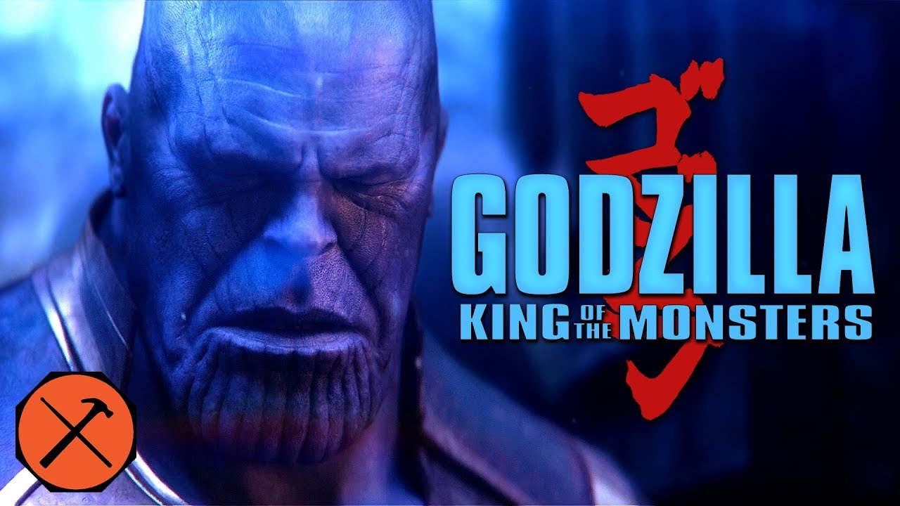 Avengers Infinity War Trailer Godzilla King Of The Monsters Style