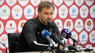 Пресс-конференция после матча «Нижний Новгород» - «Краснодар»