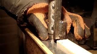 Самодельный станок для изготовления гребенки-разделителя пчелиных рамок