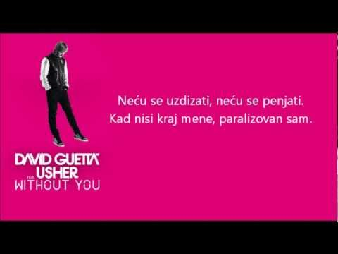 David Guetta Ft Usher Without You Prevod Youtube