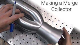TIG Welding Aluminum Fabrication - Making a Merge Collector - Flower Pot