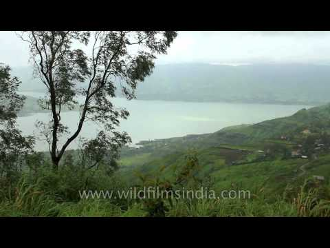 Western Ghats in Maharashtra, during the Monsoon - Parsi Point, Panchgani
