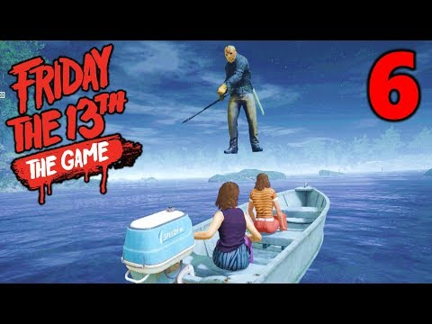 [6] Jason's Flying Boat Ride!!! (Let's Play Friday The 13th The Game)