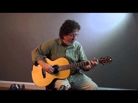 Galloup Eclipse BrazilianAdirondack at Dream Guitars