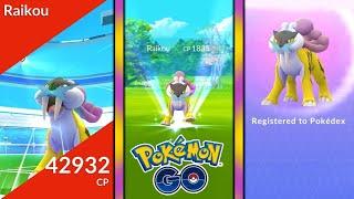 Raikou Raid Pokémon GO