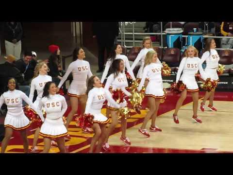 USC Song Girls Timeout of USC vs Arizona State 1/22/2017