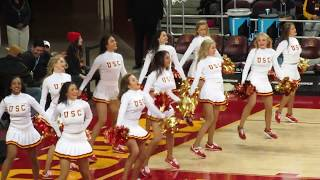 USC Song Girls Timeout of USC vs Arizona State 1/22/2017