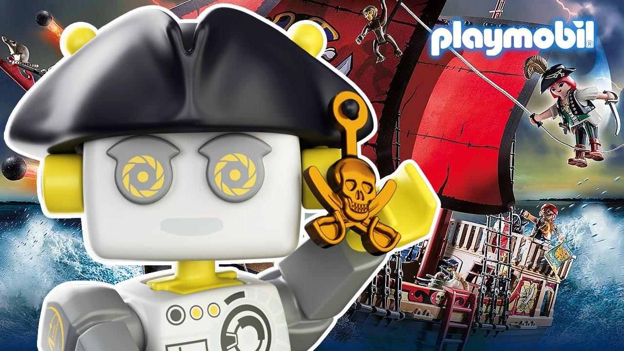 ROBert erklärt | Wie war das Piratenleben? | PLAYMOBIL Kinderfilm
