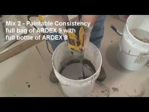 ARDEX 8+9™ Rapid ​Waterproofing and Crack Isolation Compound ​​​​​​​​​​​​​​​- Demonstration