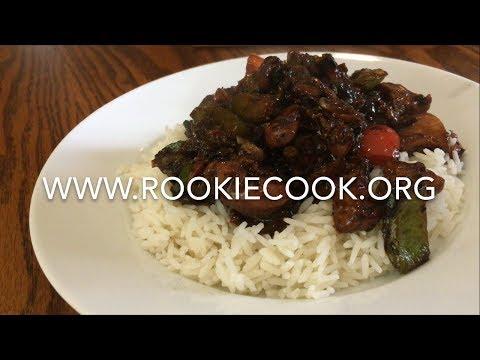 Chinese Black Bean Chicken