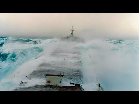 Bulk Carrier in Rough Sea