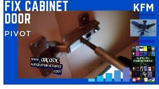 Three Different Ways How To Adjust Cabinet Doors