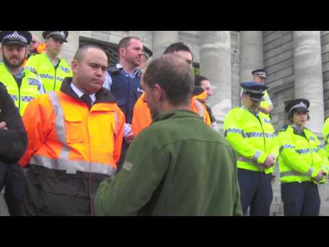 TPP Protest March Wellington 15th August  2015 (TPPA)