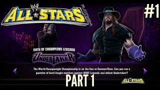 WWE All Stars Ep.1 | Path of Champions Legends Undertaker Part 1 | CZ/SK |