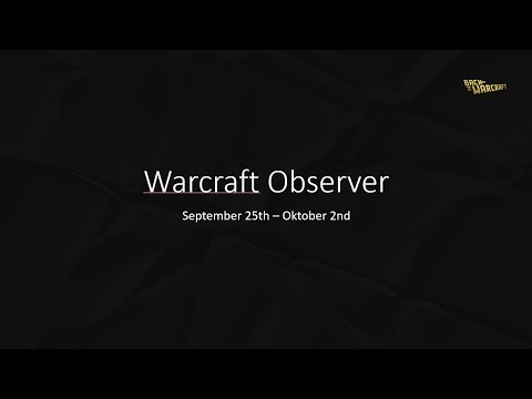 Warcraft Observer #1 - Is Blizzard doing something with War3? Plus: the return of Moon!