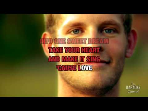Love Is A Wonderful Thing in the style of Michael Bolton | Karaoke with Lyrics